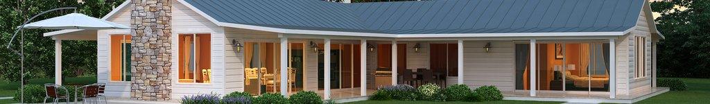 L Shaped House Plans, Floor Plans & Designs