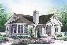 Traditional Exterior - Front Elevation Plan #23-189