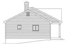 House Plan Design - Cottage Exterior - Other Elevation Plan #22-590