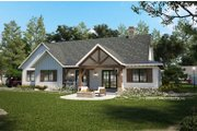 Farmhouse Style House Plan - 4 Beds 3 Baths 2252 Sq/Ft Plan #928-356 Exterior - Rear Elevation