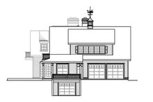 Dream House Plan - Country Exterior - Other Elevation Plan #124-701