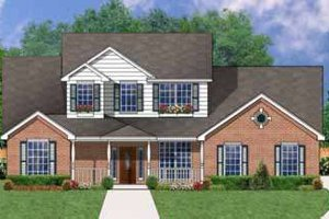 Traditional Exterior - Front Elevation Plan #62-141