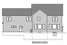 Farmhouse Exterior - Rear Elevation Plan #1010-248