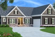 Traditional Style House Plan - 3 Beds 2 Baths 1732 Sq/Ft Plan #419-145