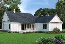 Dream House Plan - Farmhouse Exterior - Rear Elevation Plan #45-584