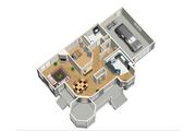 Victorian Style House Plan - 3 Beds 2 Baths 1906 Sq/Ft Plan #25-4742 Floor Plan - Main Floor Plan