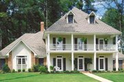 Southern Style House Plan - 4 Beds 2.5 Baths 2605 Sq/Ft Plan #45-151 Photo