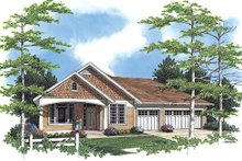 Home Plan - Craftsman Exterior - Front Elevation Plan #48-408