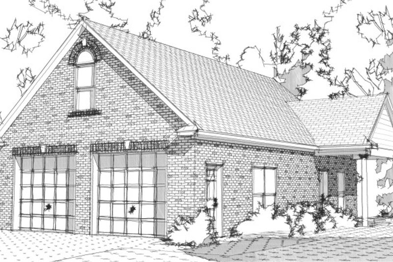 Traditional Style House Plan - 0 Beds 1 Baths 362 Sq/Ft Plan #63-331 Exterior - Front Elevation