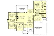Craftsman Style House Plan - 4 Beds 2.5 Baths 2641 Sq/Ft Plan #430-155 Floor Plan - Main Floor Plan