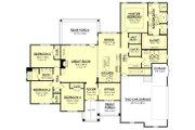 Craftsman Style House Plan - 4 Beds 2.5 Baths 2641 Sq/Ft Plan #430-155
