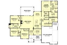Craftsman Floor Plan - Main Floor Plan Plan #430-155