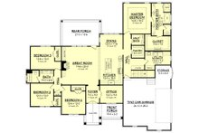 Craftsman Floor Plan - Main Floor Plan Plan #430-155