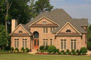 European Style House Plan - 4 Beds 3.5 Baths 4579 Sq/Ft Plan #119-360 Exterior - Other Elevation