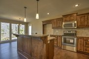 Ranch Style House Plan - 3 Beds 2 Baths 1642 Sq/Ft Plan #20-1869 Interior - Kitchen