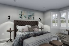House Plan Design - Traditional Interior - Master Bedroom Plan #1060-46
