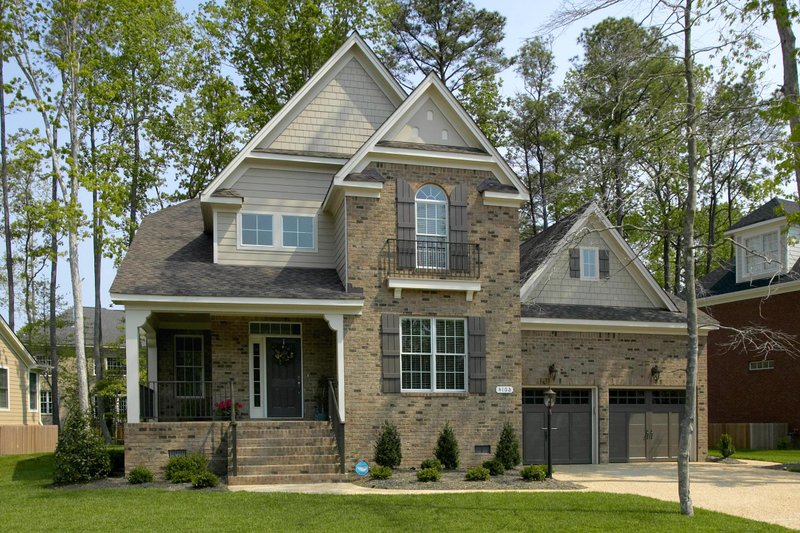 Dream House Plan - European style home, elevation