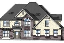 House Plan Design - European Exterior - Front Elevation Plan #5-218
