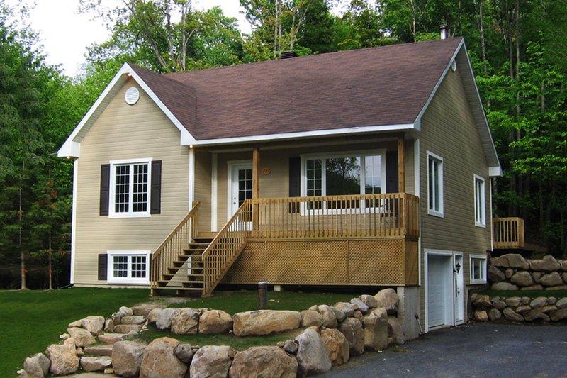 Dream House Plan - Cottage Exterior - Front Elevation Plan #23-609