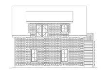Craftsman Exterior - Rear Elevation Plan #22-542