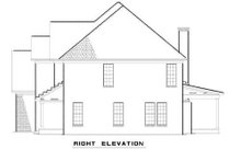 House Plan Design - Traditional Exterior - Rear Elevation Plan #17-2072