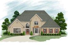 Dream House Plan - European Exterior - Front Elevation Plan #56-219