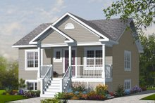 Ranch Exterior - Front Elevation Plan #23-2200