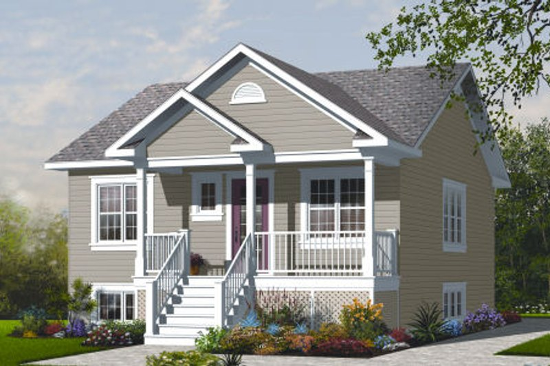 Dream House Plan - Ranch Exterior - Front Elevation Plan #23-2200