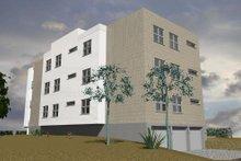 Contemporary Exterior - Rear Elevation Plan #535-24