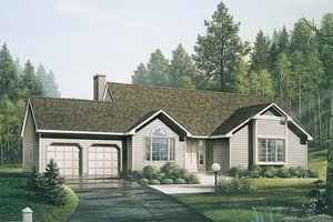 Traditional Exterior - Front Elevation Plan #57-200