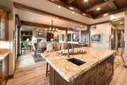 Craftsman Style House Plan - 3 Beds 4.5 Baths 3959 Sq/Ft Plan #892-16 Interior - Kitchen