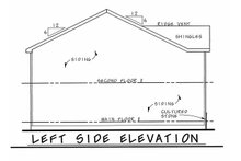 Architectural House Design - Traditional Exterior - Other Elevation Plan #20-2407