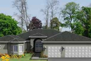 Traditional Exterior - Front Elevation Plan #1-992