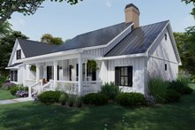 Home Plan - Farmhouse Exterior - Other Elevation Plan #120-263
