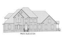 Architectural House Design - Traditional Exterior - Front Elevation Plan #1054-83