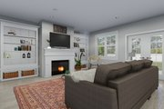 Farmhouse Style House Plan - 3 Beds 2.5 Baths 2254 Sq/Ft Plan #1060-47 Interior - Family Room