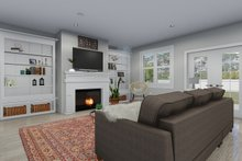 Dream House Plan - Farmhouse Interior - Family Room Plan #1060-47