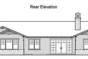 Traditional Style House Plan - 4 Beds 3.5 Baths 3861 Sq/Ft Plan #490-18 Exterior - Rear Elevation