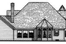 Victorian Exterior - Rear Elevation Plan #20-1149