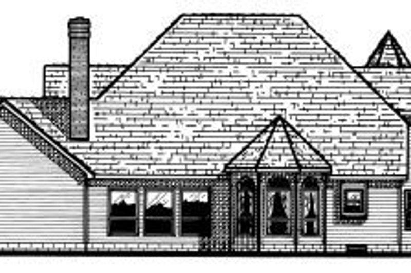 Victorian Exterior - Rear Elevation Plan #20-1149 - Houseplans.com