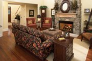 Country Style House Plan - 4 Beds 2.5 Baths 2490 Sq/Ft Plan #929-19 Interior - Family Room