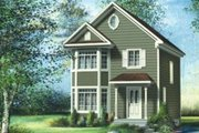 Farmhouse Style House Plan - 2 Beds 1.5 Baths 1184 Sq/Ft Plan #25-4053 Exterior - Front Elevation