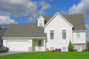 Traditional Style House Plan - 3 Beds 3 Baths 1428 Sq/Ft Plan #49-104