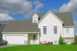 Traditional Exterior - Front Elevation Plan #49-104