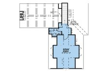 Country Floor Plan - Upper Floor Plan Plan #923-131