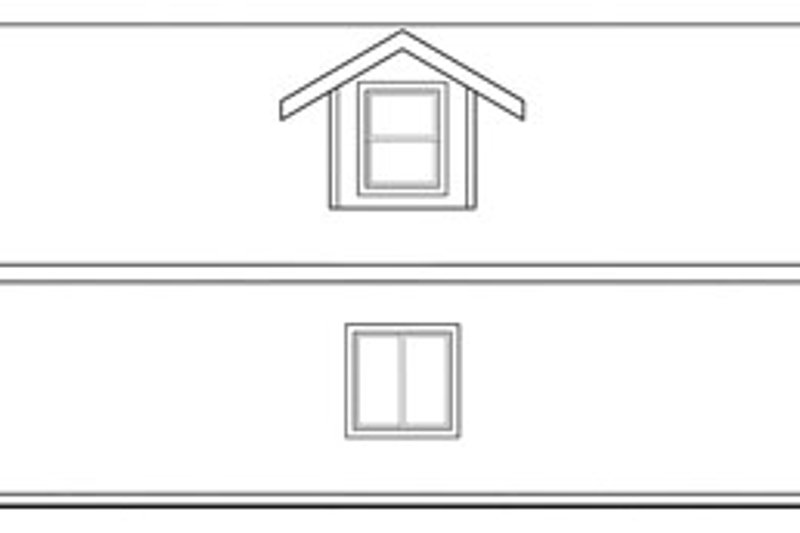 Traditional Exterior - Other Elevation Plan #124-661 - Houseplans.com
