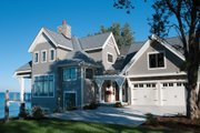 Traditional Style House Plan - 4 Beds 3.5 Baths 3472 Sq/Ft Plan #928-11 Exterior - Front Elevation