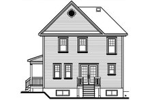 Country Exterior - Rear Elevation Plan #23-475