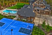 Craftsman Style House Plan - 7 Beds 8.5 Baths 8515 Sq/Ft Plan #132-218 Exterior - Other Elevation