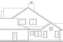 Craftsman Exterior - Other Elevation Plan #124-845